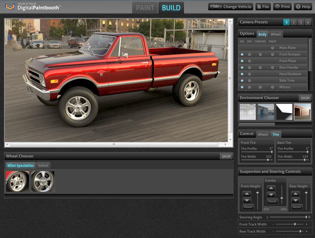 New rendering design software the 1947 present for Truck design software